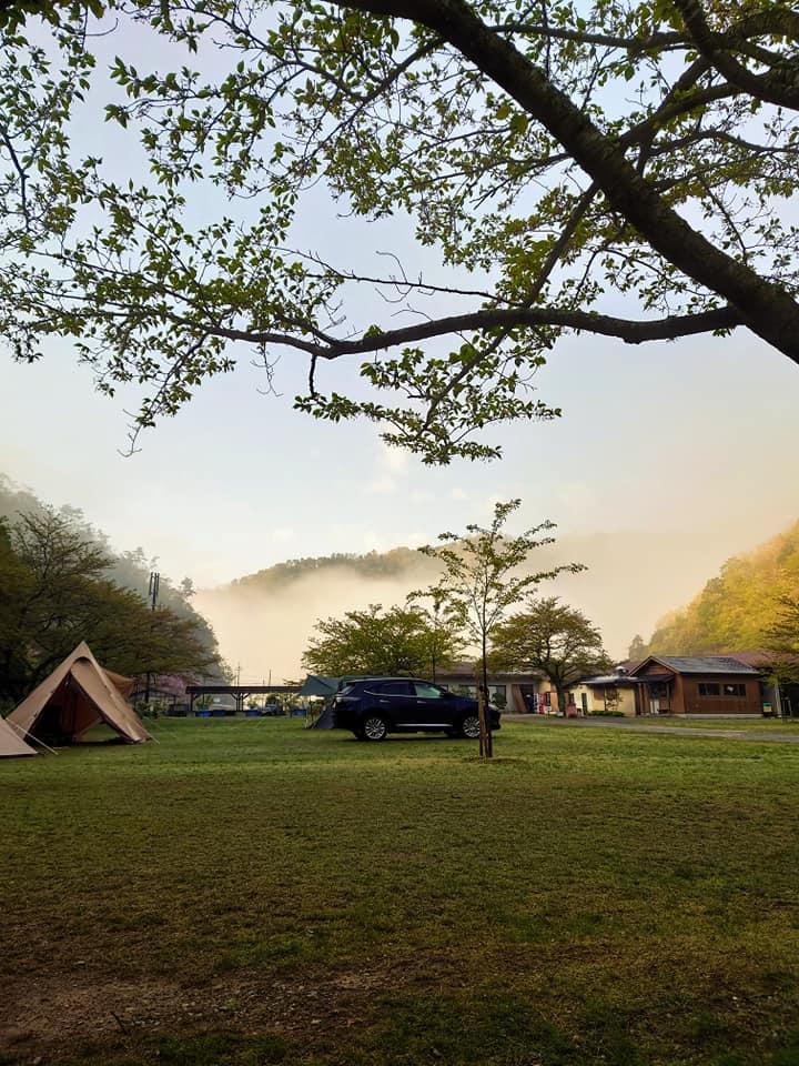 朝キャンプ